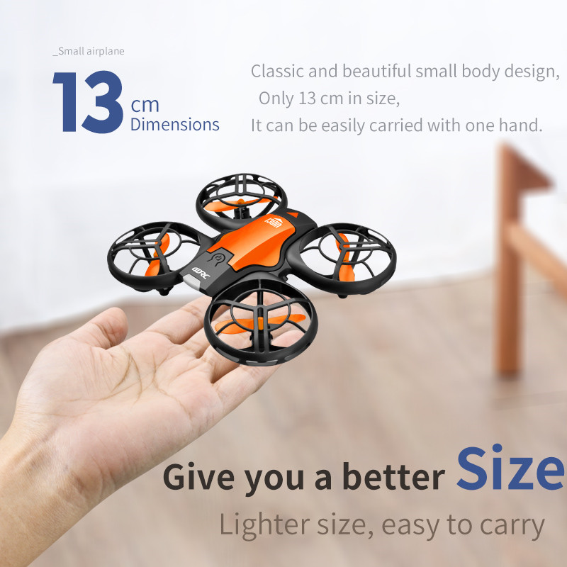 V8 New Mini Drone 4K 1080P HD Camera WiFi Fpv Air Pressure Height Maintain  Foldable Quadcopter RC Dron Toy Gift 6