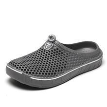Garden Shoes Sandals Massage-Slippers Flip-Flops Outdoor Breathable Summer Men Fashion
