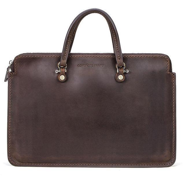 Retro Genuine Leather Laptop bag case for MacBook Pro 15″ Handbag Notebook Bag for Dell Surface book Huawei Matebook 15″ Laptop
