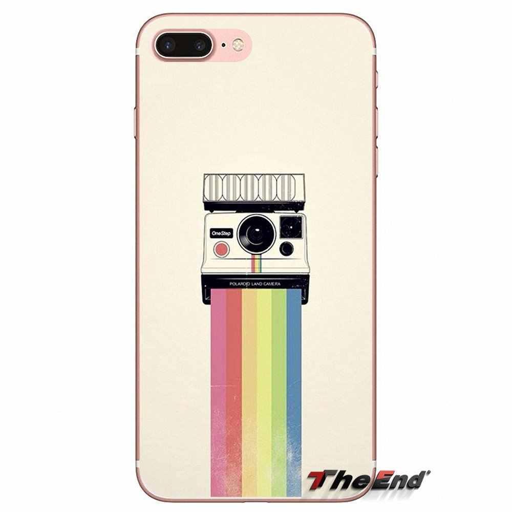 Untuk Samsung Galaxy S9 Plus Catatan 8 PLUS OnePlus 5T Meizu M5s LG V30 HTC U11 Retro Vintage Kamera kaset Phone Case