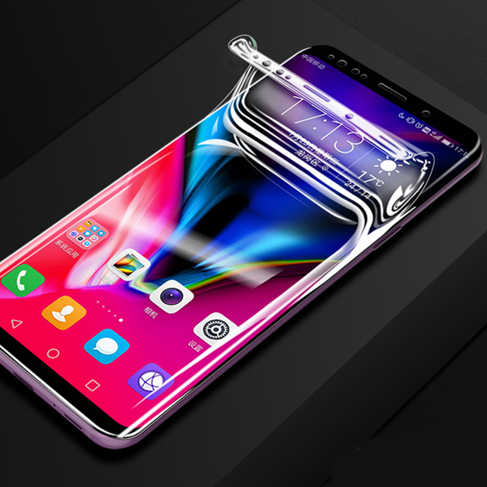 HD Curved Full Screen Protector For Samsung Galaxy S10 Plus 5G S9 S8 S8Plus Note 8 9 10 Soft Protective film Not Tempered Glass image