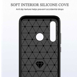 Image 4 - ZOKTEEC luxury Case Armor Shockproof Carbon Fiber Soft TPU Silicon Bumper Case Cover For Huawei honor 9 10 P20 P30 Lite Pro 2019