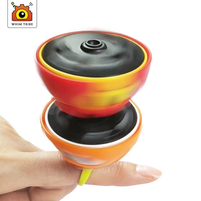 Spinner Top Gyro Toy Inertial Fingertip Stunt Gyroscope For Mini-children Inertial Vehicle For Children  Cartoon Gyro Fidget