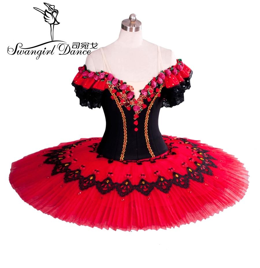 sarkanais balets Tutu pieaugušo klasiskā baleta tutu priekšnesumam - Jaunums