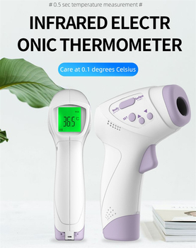Non-contact Forehead measure temperature gun Non-Contact Infrared Thermometer body Digital electronic Thermometer Multi-purpose