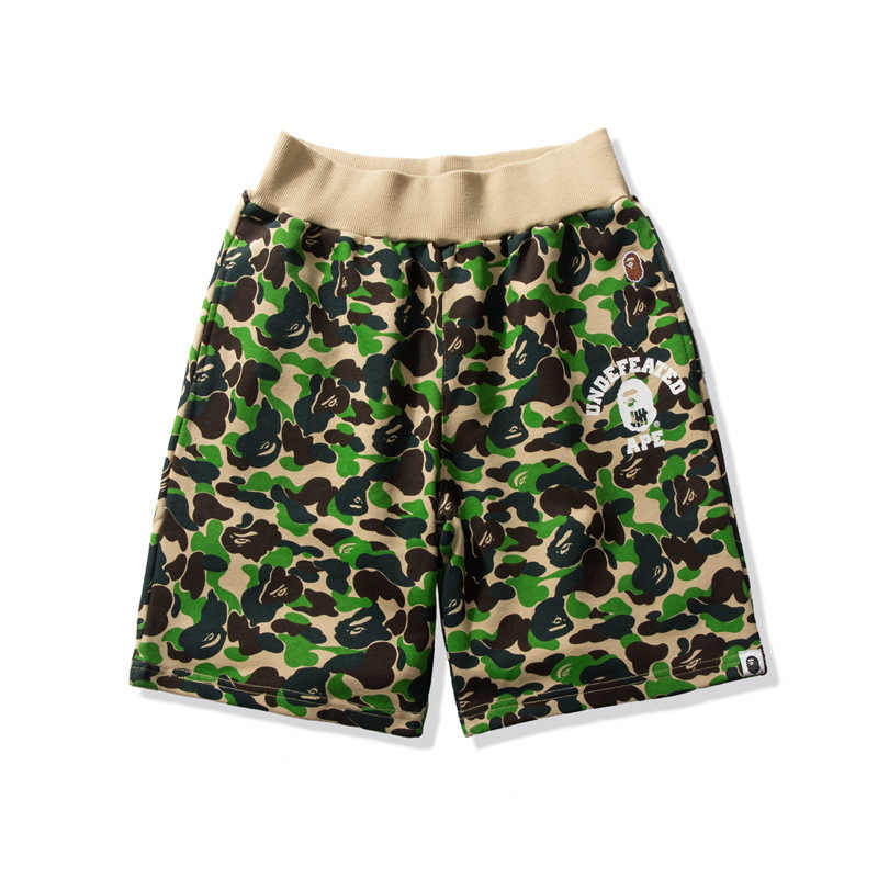 Japanse Trend Mannen Board Shorts Zomer Camouflage Strand Surfen Man Zwemmen Shorts Athletic Sport Running Gym Shorts