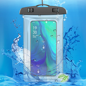 Mobile Phone Waterproof Bags With Straps Sealed PVC Protective Case Cover Underwater Pouch For Mobile Phones Swimming Bags