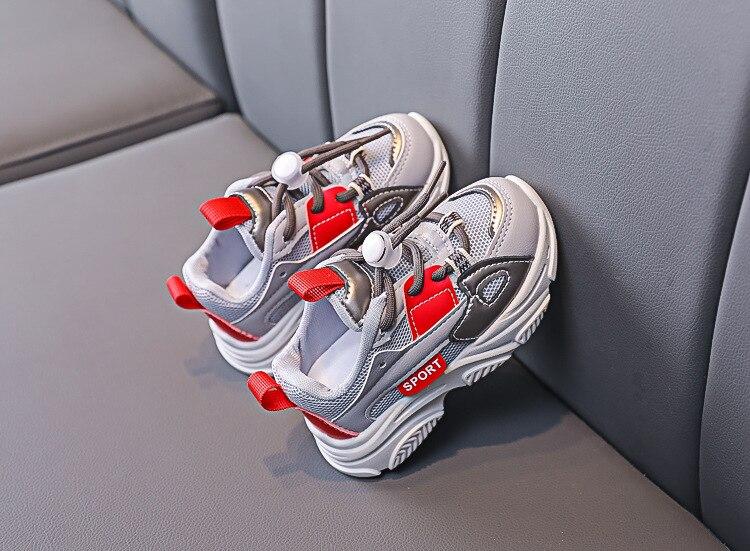 Crianças sapatos casuais tênis crianças da moda