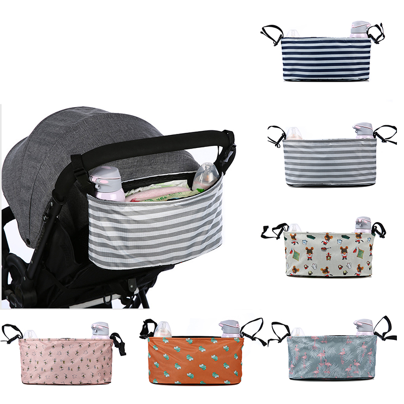 Baby Stroller Organizer Bag With Cup Holder For Wheelchairs Baby Carriage Pram Cart Bottle Nappy Bag Yoya Stroller Accessories