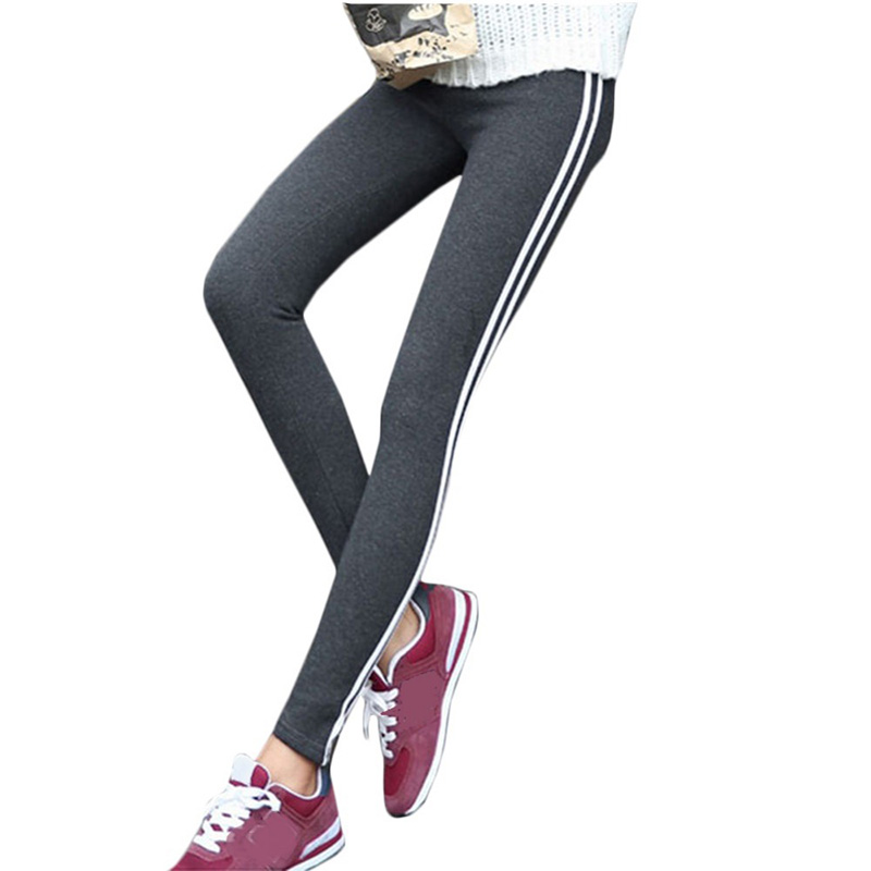 Women Lady Activewear Black Legging Spring Summer Light Grey Pant Autumn Mid Waist Leggins Original Order