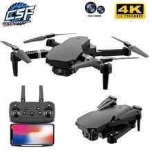 2021 novo zangão s70 4k profissional hd câmera dupla dobrável quadcopter dron wifi fpv 1080p real-time transmissão brinquedo vs e88/e520