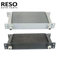 19 Row Universal AN10 AN-10 Engine Transmission 10AN Oil Cooler