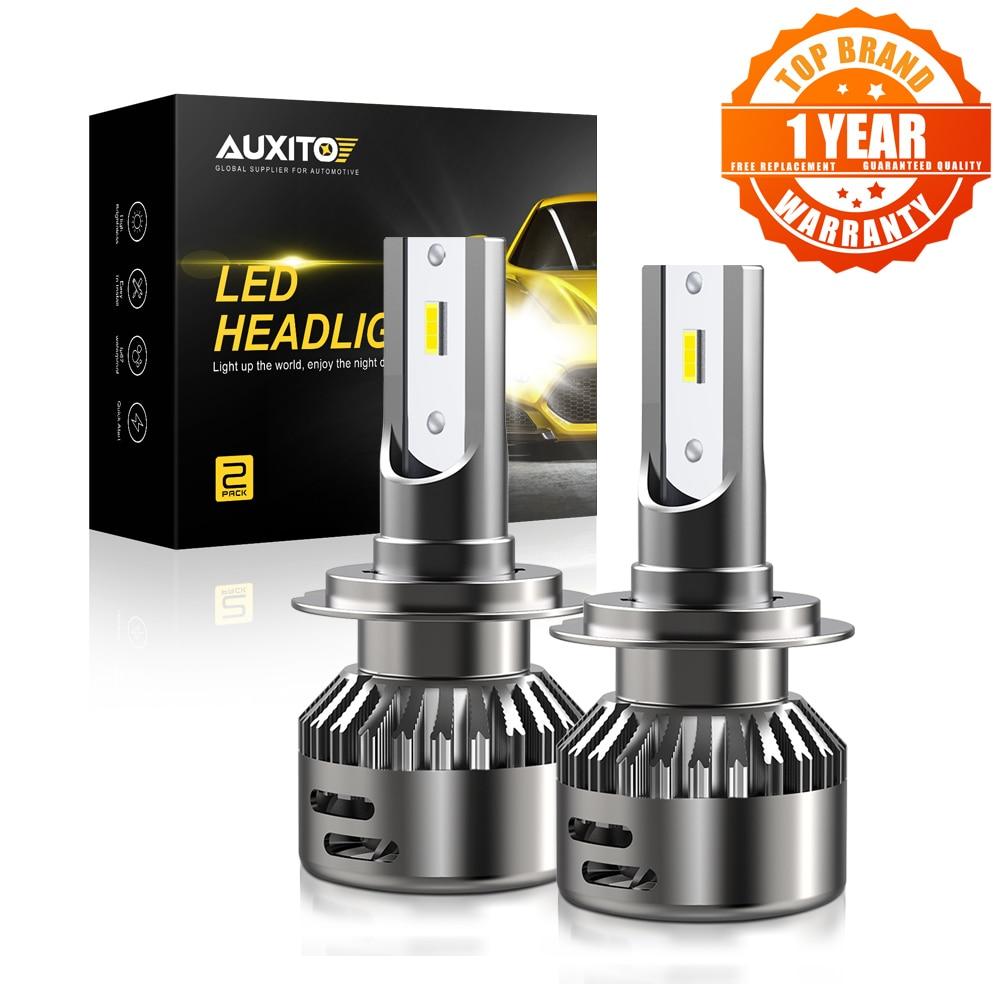 AUXITO 16000LM светодиодный светильник для Toyota Kia Nissan Opel авто лампа автомобиля светодиодный светильник H7 H11 9005 9006 HB3 HB4 H1 автомобиля