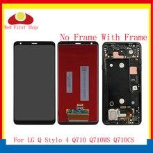 цена на ORIGINAL 6.2'' For LG Q Stylo 4 LCD Stylo4 Q710 Q710MS Q710CS LG Stylo 4 LCD Touch Screen Assembly Digitizer Frame Q710 Screen