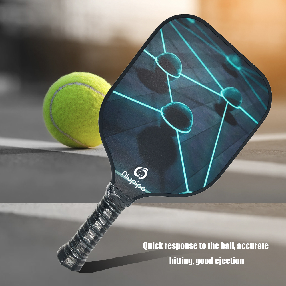 Tennis Racket Paddle With Graphite Face Tennis Paddle Polymer Honeycomb Core Lightweight Tennis Racket Sports