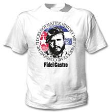 Neue Mode Lustige T-shirt Fidel Castro Condemn Mich T Shirt Männer Baumwolle Kurzarm T-shirt Hip Hop Tees Tops Harajuku streetwear
