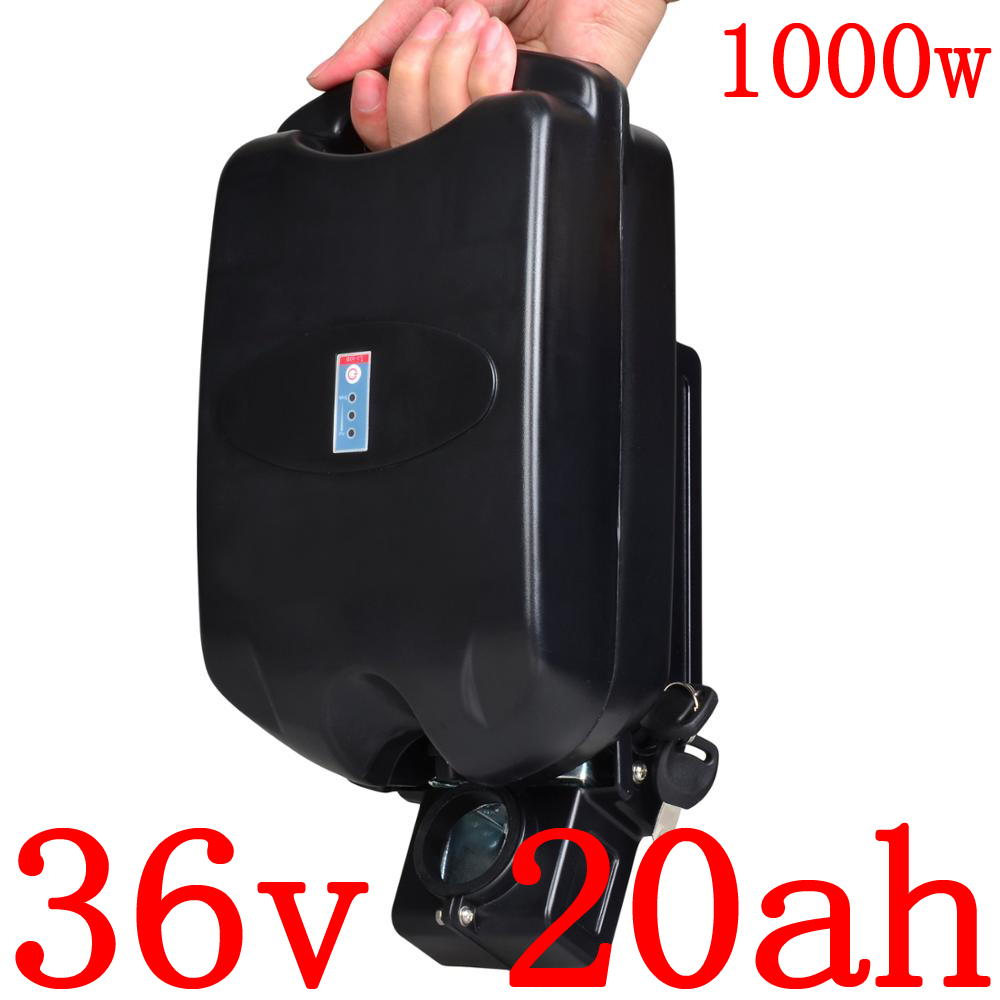 36 V 1000 W Ebike Baterie 36 V 20AH lithiová koloběžka Baterie 36 V 20AH Elektrické kolo Baterie Baterie LG / panasonic / sanyo / samsung