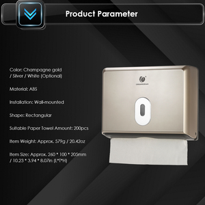 Image 5 - Tissue Box Holder Bathroom Tissue Dispenser Kitchen Napkin Holder For Kitchen Toilet Paper Towel Dispenser Wall Mounted