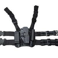 Armee Militär HK USP Compact Hand Gun Gürtel/Bein Holster Taktische Paintball Pistole Holster Jagd Pistole Pistole Fall Oberschenkel holster