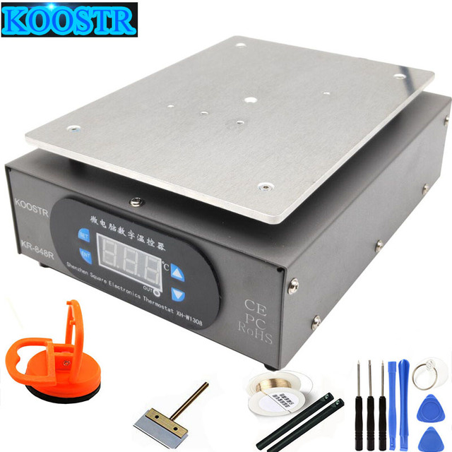 Нагревательная станция, нагревательная пластина для ЖК экрана, мобильный телефон, пренагреватель, Цифровая Платформа термостата, лучше 946S