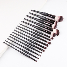 цены на Cosmetics Beauty Luxury Black Makeup Brushes Set Tools For Foundation Powder Blush Eyeshadow Concealer Lip Eye Make Up Brush  в интернет-магазинах