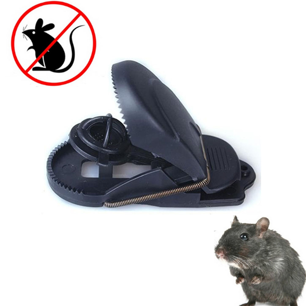 Bait Rodent Repeller Spring Rat Catching Sensitive Reusable Plastic Mice Catcher Clamp Snap Mouse Trap #63