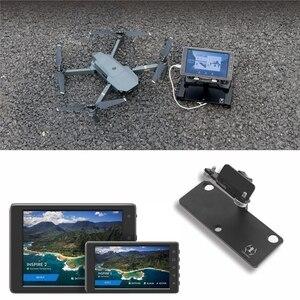 Image 3 - Suporte adaptador de montagem para dji mavic pro faísca 5.5/7.85in crystalsky mavic mini monitor controle remoto titular acessórios