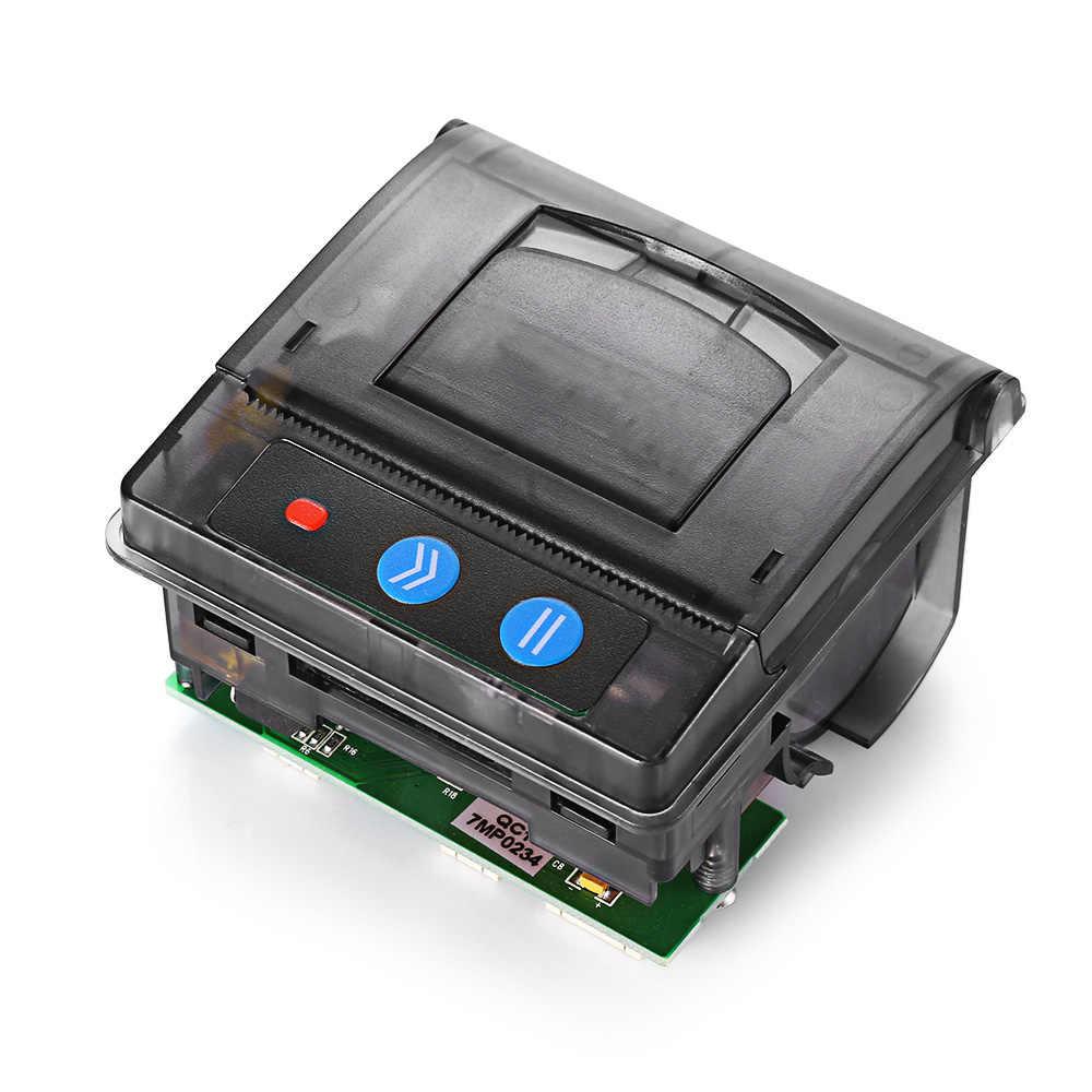 GOOJPRT ポケットバーコードサーマルプリンタ 58 ミリメートルミニ組込みレシートチケットプリンタインタフェース ttl RS232 5-9V サポート無料の Sdk
