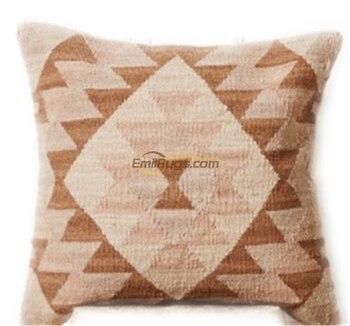 Nordic Pillow Hard Wool Pakistani Handmade Bohemian Pillow
