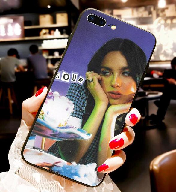OLIVIA RODRIGO THEMED IPHONE CASE (18 VARIAN)