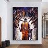 Kobe Bryant Art Canvas Schilderij Nba Muur Posters En Prints Basketbal Canvas Motivatie Sport Print Voor Home Decor