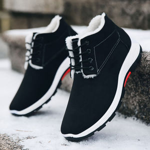New Winter Snow Boots Comfortable Warm Boots Ankle boots Wear-resistant Cotton Shoes Men snow boots velvet Ankle boots A485