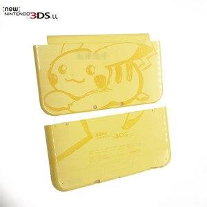 Image 3 - Originele Merk Nieuwe Bovenste En Down Shell Cover Voor Nieuwe 3DS Xl Behuizing 4 Kleuren Beschikbaar