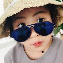 New style Kids Sunglasses Boys Girls Baby Child  Pilots Sun Glasses Goggles 2019 Trend Mirror Brand Children Shades
