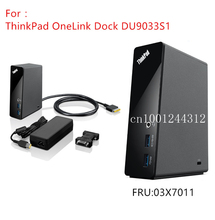 레노버 Thinkpad OneLink 도킹 DU9033S1 E431 E540 E440 E531 S540 S440 S431 S531 X1 탄소 요가 12 14 15 03X7011