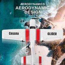 Avión planeador de espuma EPP con Control remoto para exteriores, juguete aerodinámico de espuma, ligero y duradero, Z-53, 2 canales, 2,4G