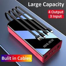 CASEIER Power Bank 60000mAh Portable Charging Powerbank Pverbank 50000mAh For Mobile Phone Power Banks For Phone Fast Charging