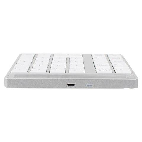 bluetooth 2 em 1 numerico teclado calculadora