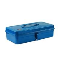 Yi nicety Toolbox Thick Algam Toolbox Flat Roof Storage Box Two color Algam Toolbox Orange Blue