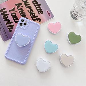 Cute Glitter Plain Love Heart