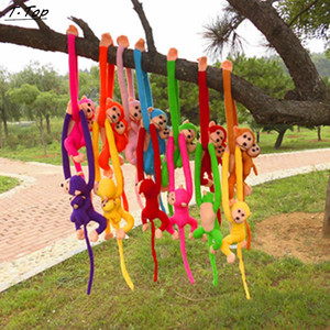 Image 4 - 60cm Lustige Affe Tier Lange Hände Puppe Weiche Plüsch baby Spielzeug Kinderwagen Schlafen Spielzeug Gefüllte Puppen Kinder Geschenk