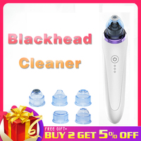 Electric black dot vacuum pore cleaner Acne Remover for face cleansing Pimple Removal Vacuum Suction Facial Skin Care Tool nam4