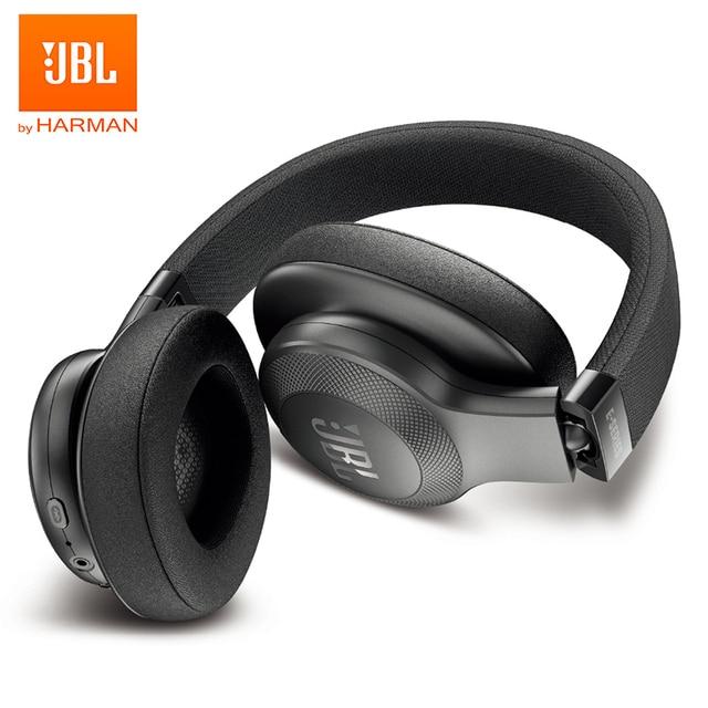 JBL E55BT Wireless Over-ear Headphones Foldable Bluetooth Headset Deep Bass Sports Run Earphone HIFI Gym with Mic Speed Charge Electronics Wireless Earphones