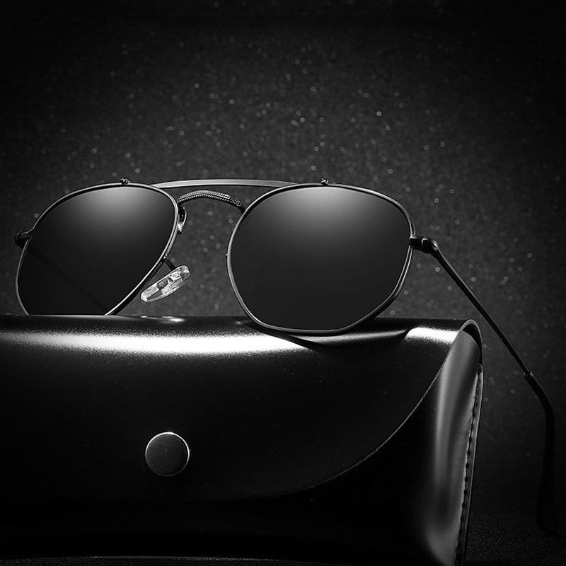 Brand Design Polarized Sunglasses Men Women Metal Driving Sun Glasses Coating Sunglass UV400 Shades Eyewear Oculos De Sol