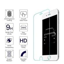 100 шт./лот 0,25 мм закаленное стекло, Защита экрана для iPhone 12 mini 11 Pro X XR XS max 8 7 6 Plus 5S 2.5D, пленка из закаленного стекла