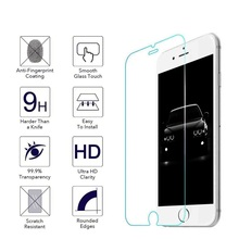 100 Pcs/lot 0.25mm Tempered Glass Screen Protector for iPhone 12 mini 11 Pro X XR XS max 8 7 6 Plus 5S 2.5D Tempered Glass Film