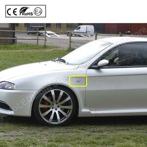 Image 5 - 2Pc Dynamic LED indicatore di direzione laterale freccia indicatore di direzione lampeggiante lampada per Alfa Romeo Mito per Alfa Romeo Mito 147 GT Fiat Bravo 198