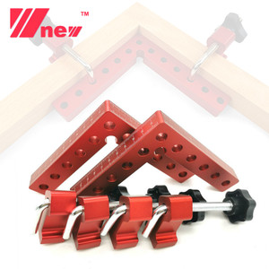 2Pc 90 Degrees Auxiliary Fixture Splicing Board Positioning Panel Fixed Clip Carpenter's Square Ruler L-Shaped Woodworking Tool