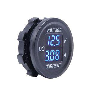 Image 3 - Universal DC 9V to 48V 10A Digital Voltmeter Ammeter Voltage Current Meter Measurement LED Display For 12V 24V 36V Electric bike