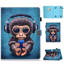 "Funda Tablet case 7 inch universele Case 7 ""Folio Cover Beschermende Stand voor iPad Samsung Touchscreen Tablet Xiaomi Lenovo huawei(China)"